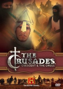 The Crusades: The Crescent & The Cross DVD cover image