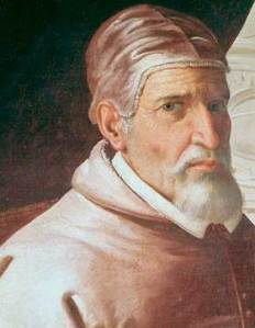 portrait image of Pope Urban II
