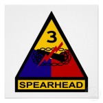 3rd Armored Division Shoulder Insignia