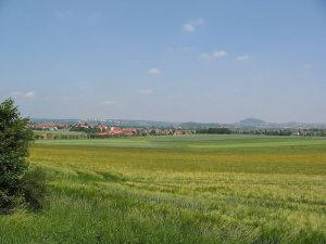 Fulda Countryside, looking towards Fulda