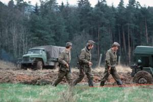 DDR Grenztruppen Construction Crew