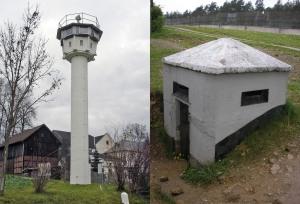 DDR 36' Watchtower & 2-Man Observation Bunker