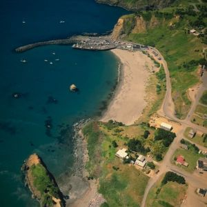Aerial View of Port Orford Oregon