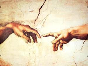 Michaelangelo's Creation of Adam