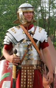 Roman Infantryman (re-enactor)