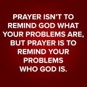 prayer reminds